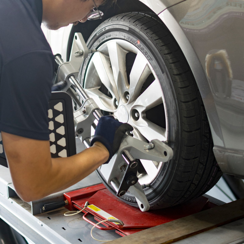 Wheel Alignment in Clemmons, North Carolina